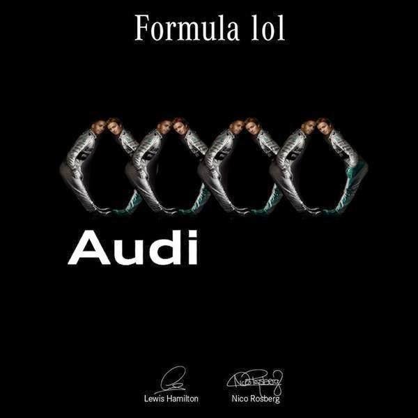Льюис Хэмилтон и Нико Росберг - Формула Успеха Audi