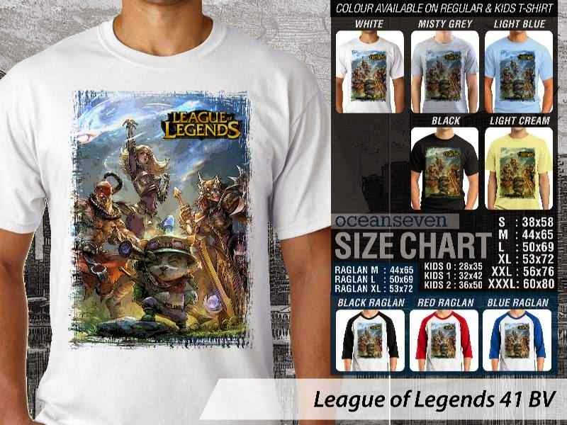 Kaos Game Online League of Legends 41 distro ocean seven