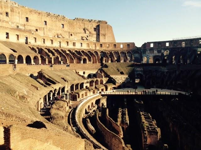 Coloseum, Rome, Italy, Travel, Colosseum Interior