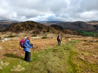 It was a lovely walk along the ridge of Muncaster Fell