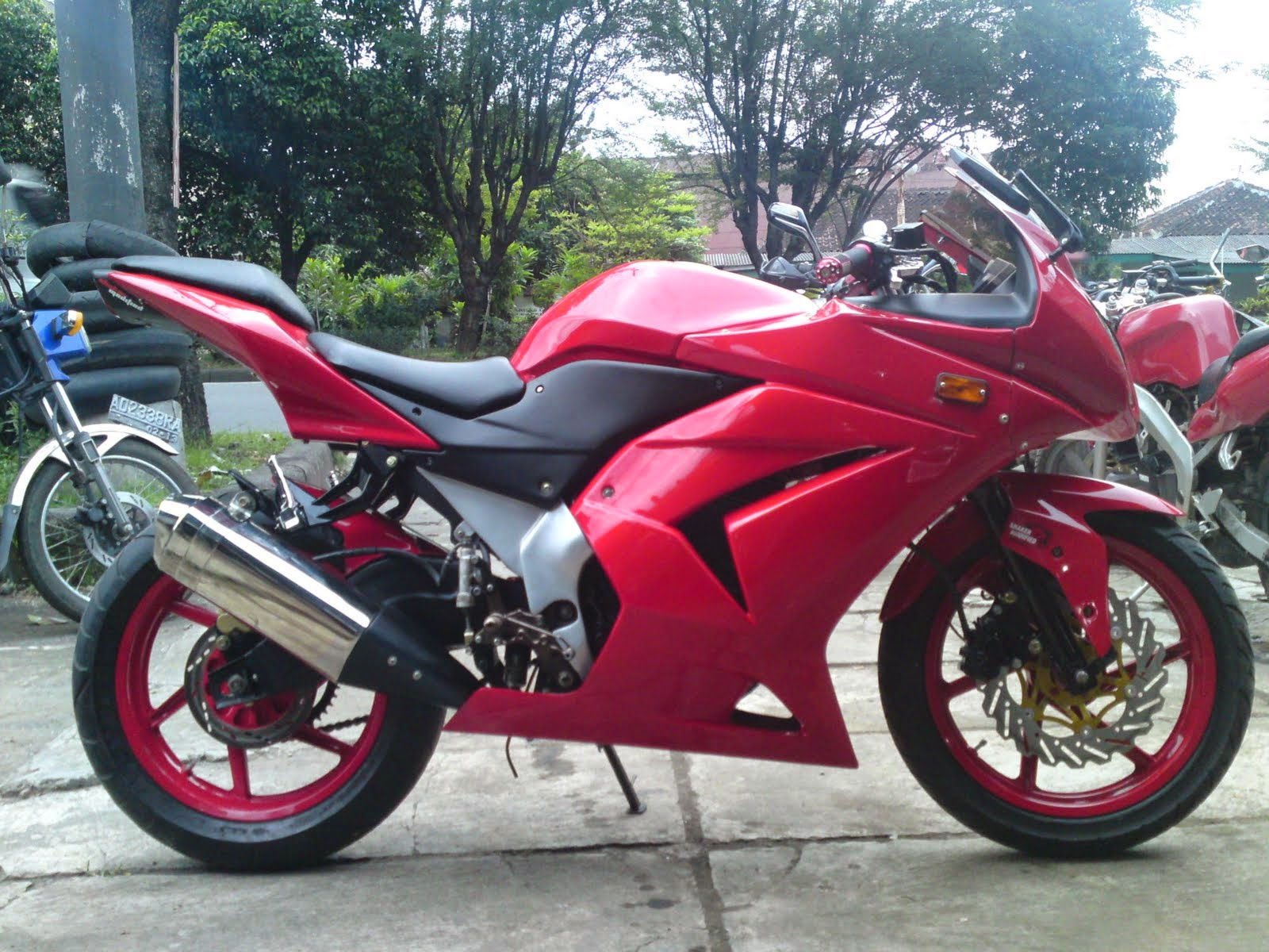 Top modifikasi byson full fairing ninja 250