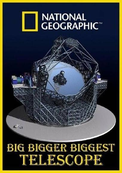 Du¿y, wielki, najwiêkszy: Teleskop / Big, Bigger, Biggest: Telescope (2009) PL.TVRip.XviD / Lektor PL