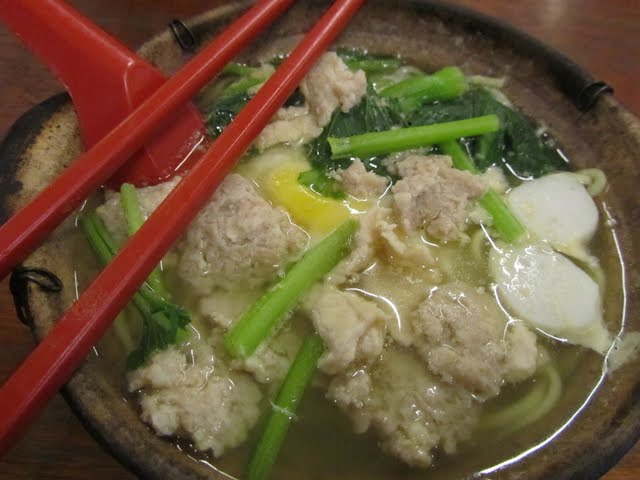 China town noodle soup KL