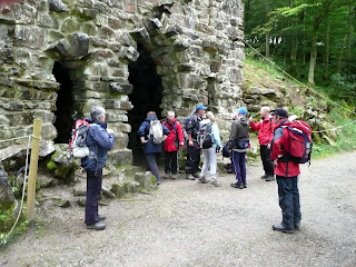 Arriving at the Grotto