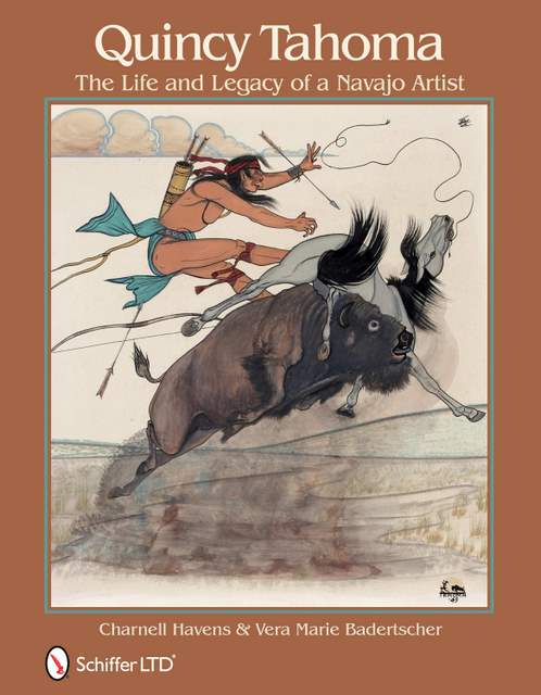 book cover for Quincy Tahoma: The Life and Legacy of a Navajo Artist