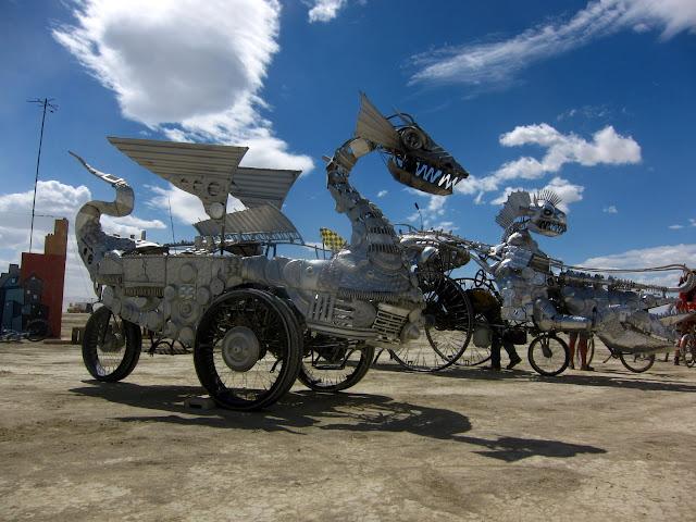 Dragon Art Cars