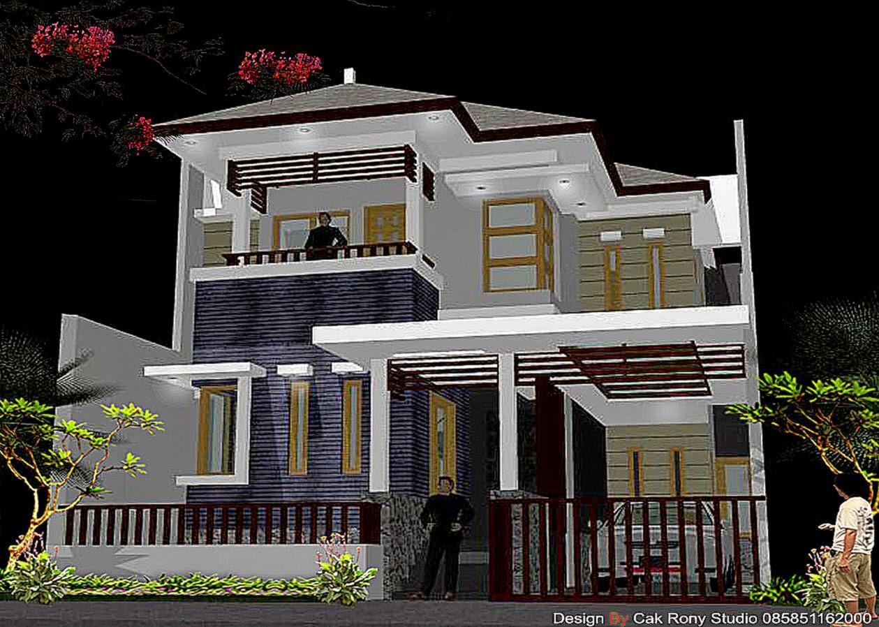 Design Rumah Gallery Taman Minimalis
