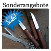 Aktionsprodukte und Sonderangebote. Küchenmesser aus Solingen billig kaufen.