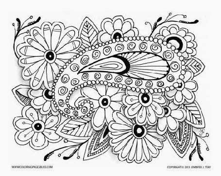 Free Adult Coloring Pages Detailed Printable Art is Fun - free adult coloring pages