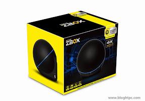 Embalaje ZOTAC ZBOX ZBOX SPHERE OI520