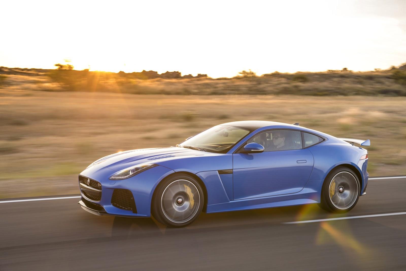 Jaguar F-Type SVR là siêu xe thể thao đỉnh nhất của Jaguar thời điểm hiện tại
