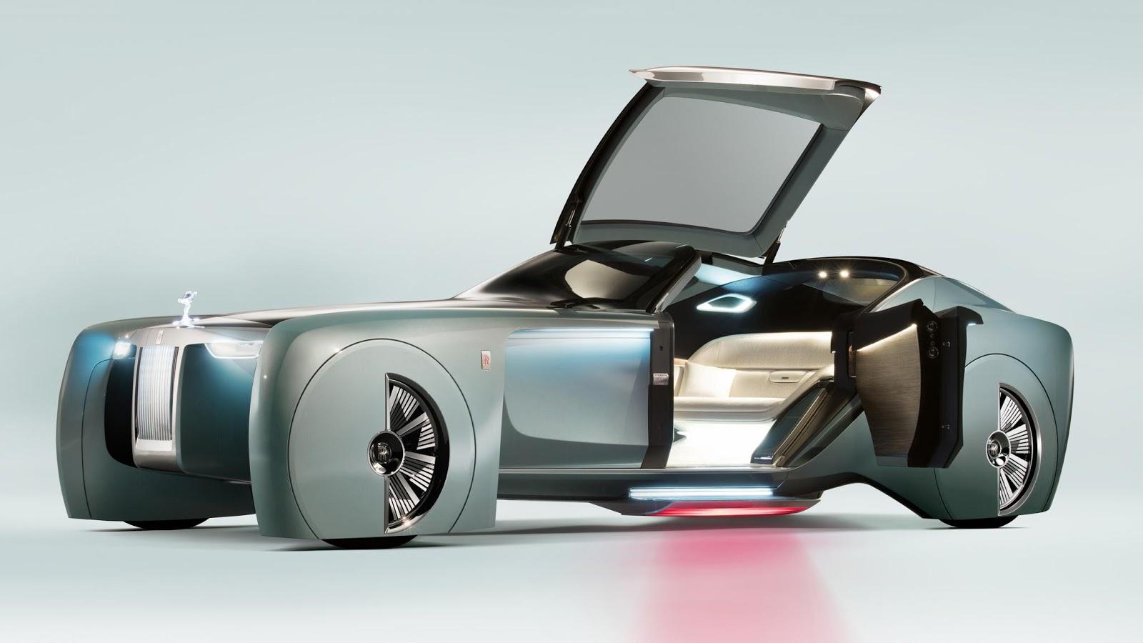 Rolls Royce Vision Next 100 sẽ được siêu xe hóa