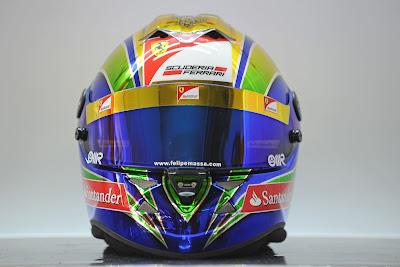 юбилейный шлем Фелипе Массы на Гран-при Бразилии 2011