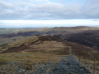 The descent to Bakestall
