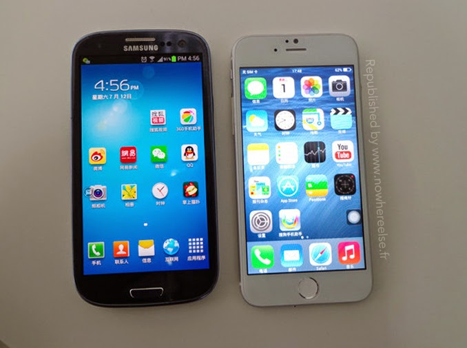 iPhone 6 vs Galaxy