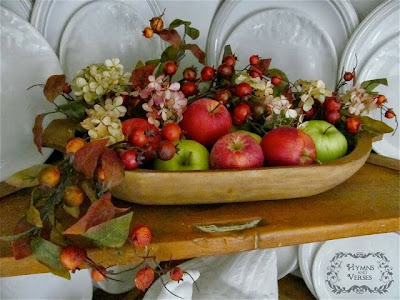 fall centerpiece, fall fruit, fall, fruit basket