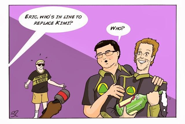 новый любимчик Эрика Буйе - комикс Stuart Taylor по Гран-при Индии 2013