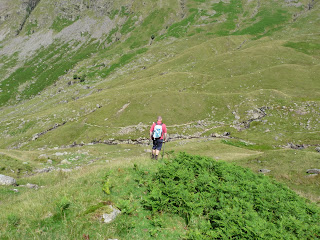 Dropping down to Greenup Gill.