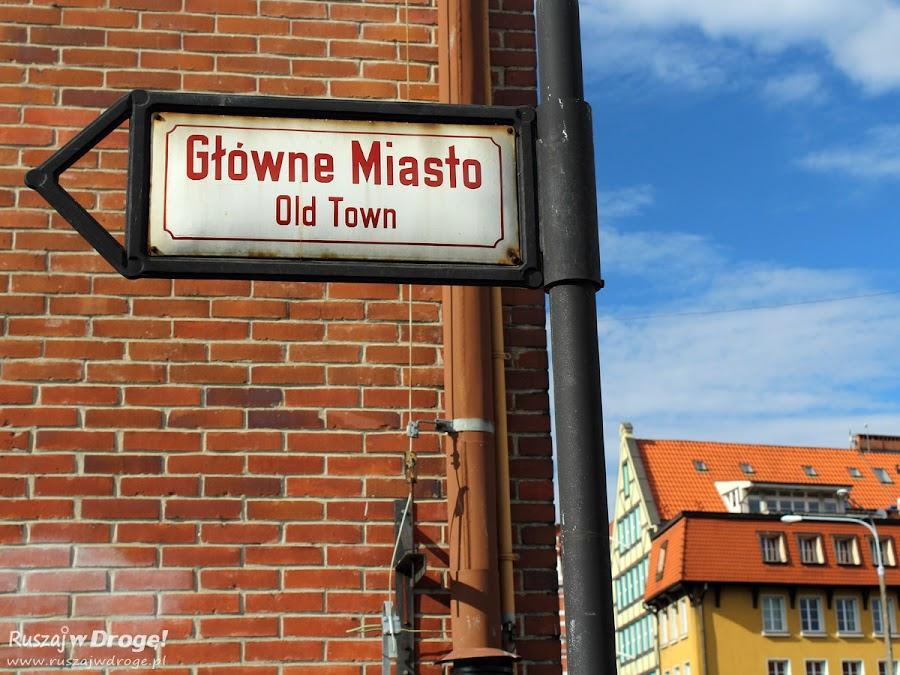Gdańskie Główne Miasto czy Stare Miasto