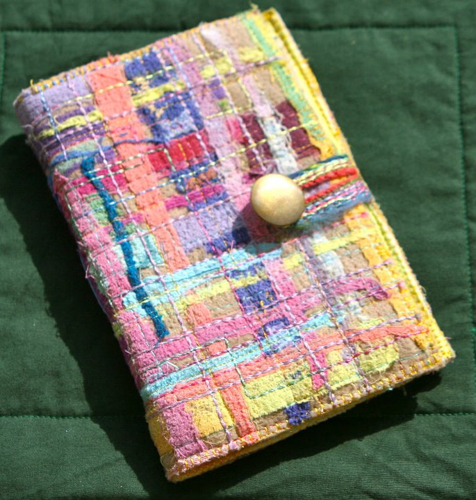 Make your own book cover - on our textile holiday
