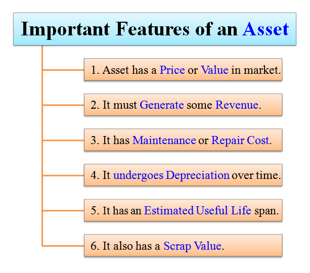 important features of an asset