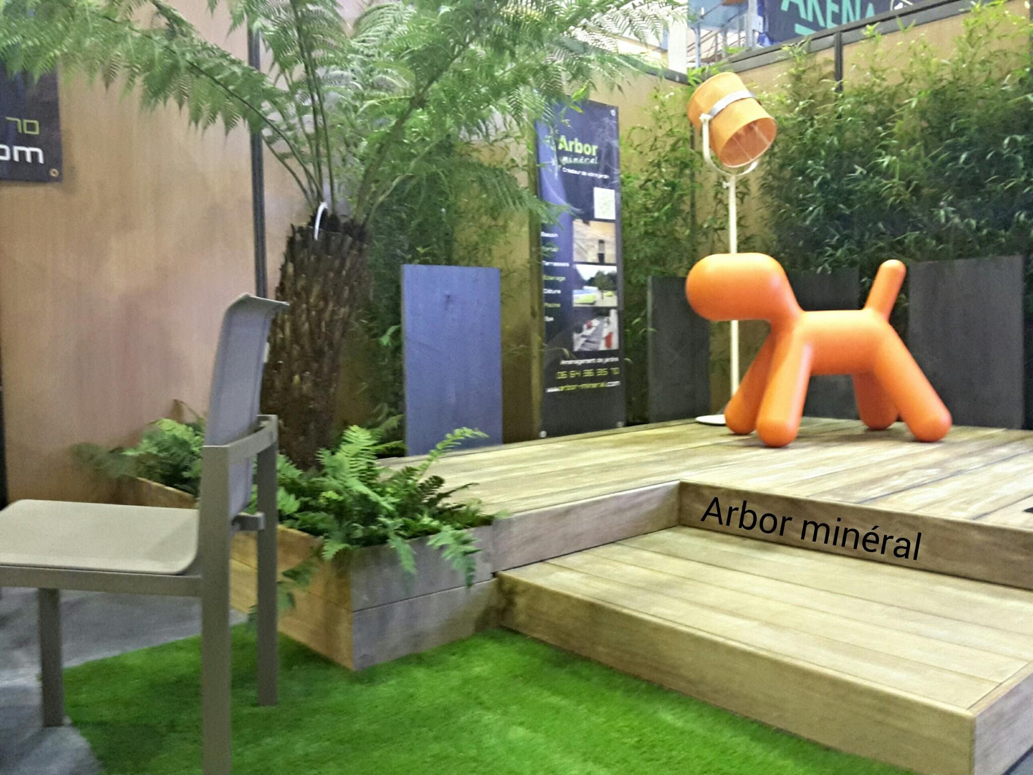 Salon de l 39 habitat vannes 2015 paysagiste arbor for Amenagement stand foire exposition