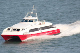 Red Funnel High-Speed Ferry -- Southampton, United Kingdom