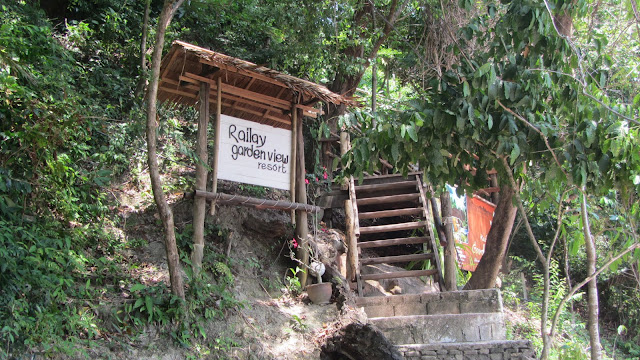 The great place we stayed on East Railay.