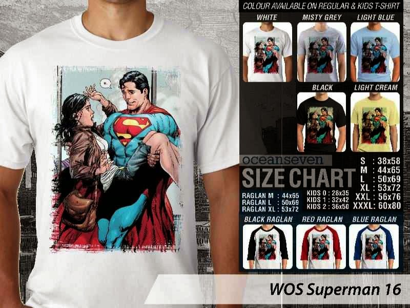 KAOS superman 16 Movie Series distro ocean seven