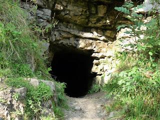 A cave in Lathkill Dale