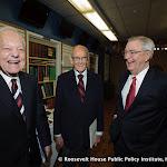 Bob Schieffer, George McGovern and Walter Mondale