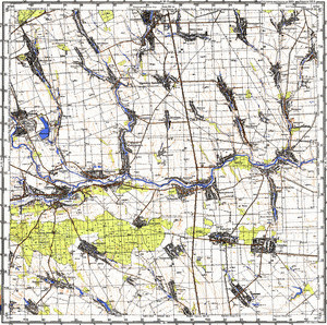 Map 100k--m36-133--(1983)