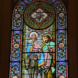 Stained Glass At The Basilica - Montserrat, Spain