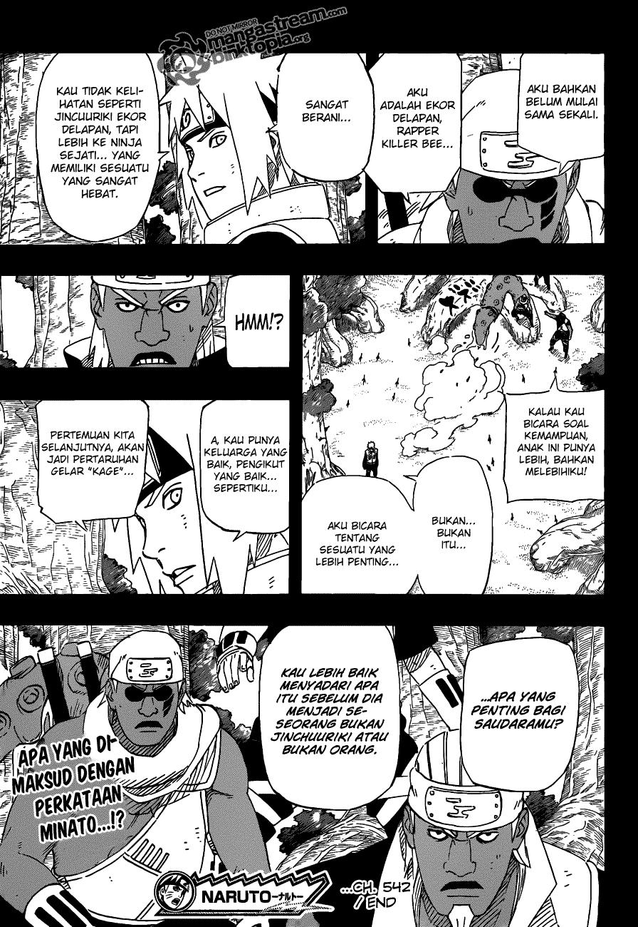 Manga, Baca Komik, Naruto Chapter 542, Naruto 542 Bahasa Indonesia ...