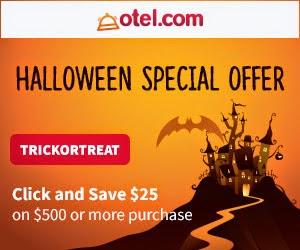 Otel.com訂酒店優惠碼,訂酒店滿US$500(約HK$3,875),即減US$25(約HK$193)。