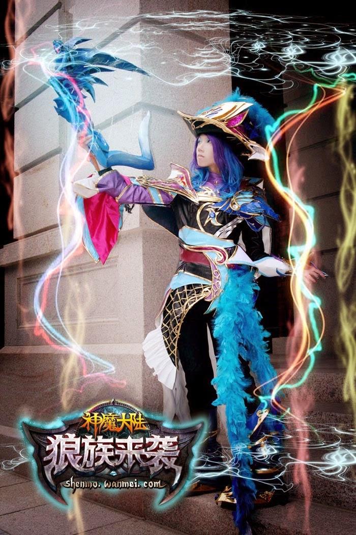 Cosplay cực chất của Thần Ma Đại Lục Trung Quốc