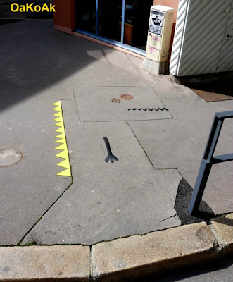 Funny Street Art Of OaKoAk Seen On www.coolpicturegallery.us