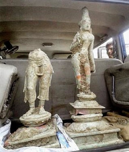 India: Unearthed idols dated to the 15th century