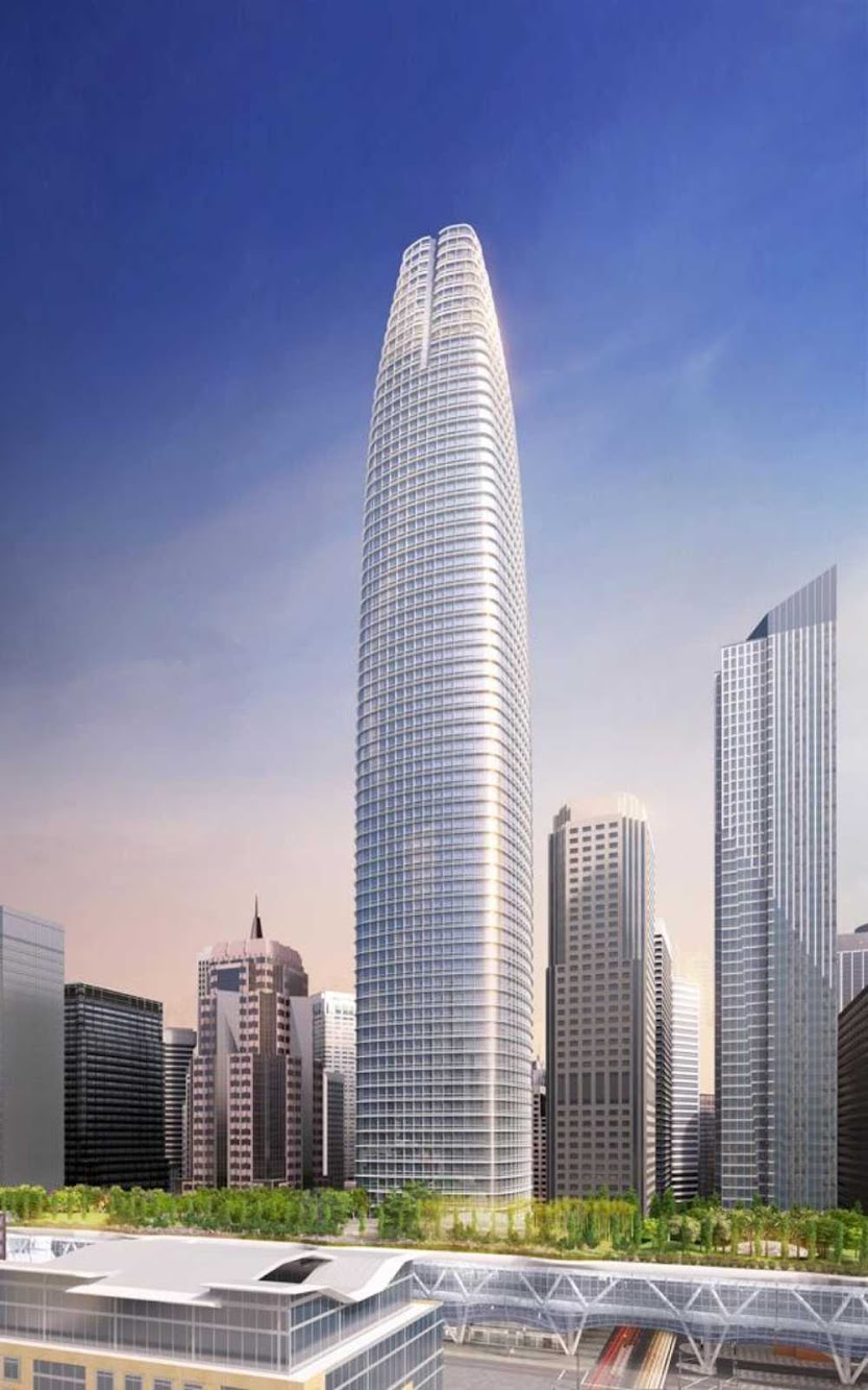 San Francisco, California, Stati Uniti: Transbay Transit Tower by Cesar Pelli
