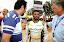 BRASILIA-BRA-June 1, 2013-Governator Agnelo Dos Santos Queiroz and RHamed Al Hameli  Team Abu dhabi at the UIM F1 H2O Grand Prix of Brazil in Paranoà Lake. The 1th leg of the UIM F1 H2O World Championships 2013. Picture by Vittorio Ubertone/Idea Marketing
