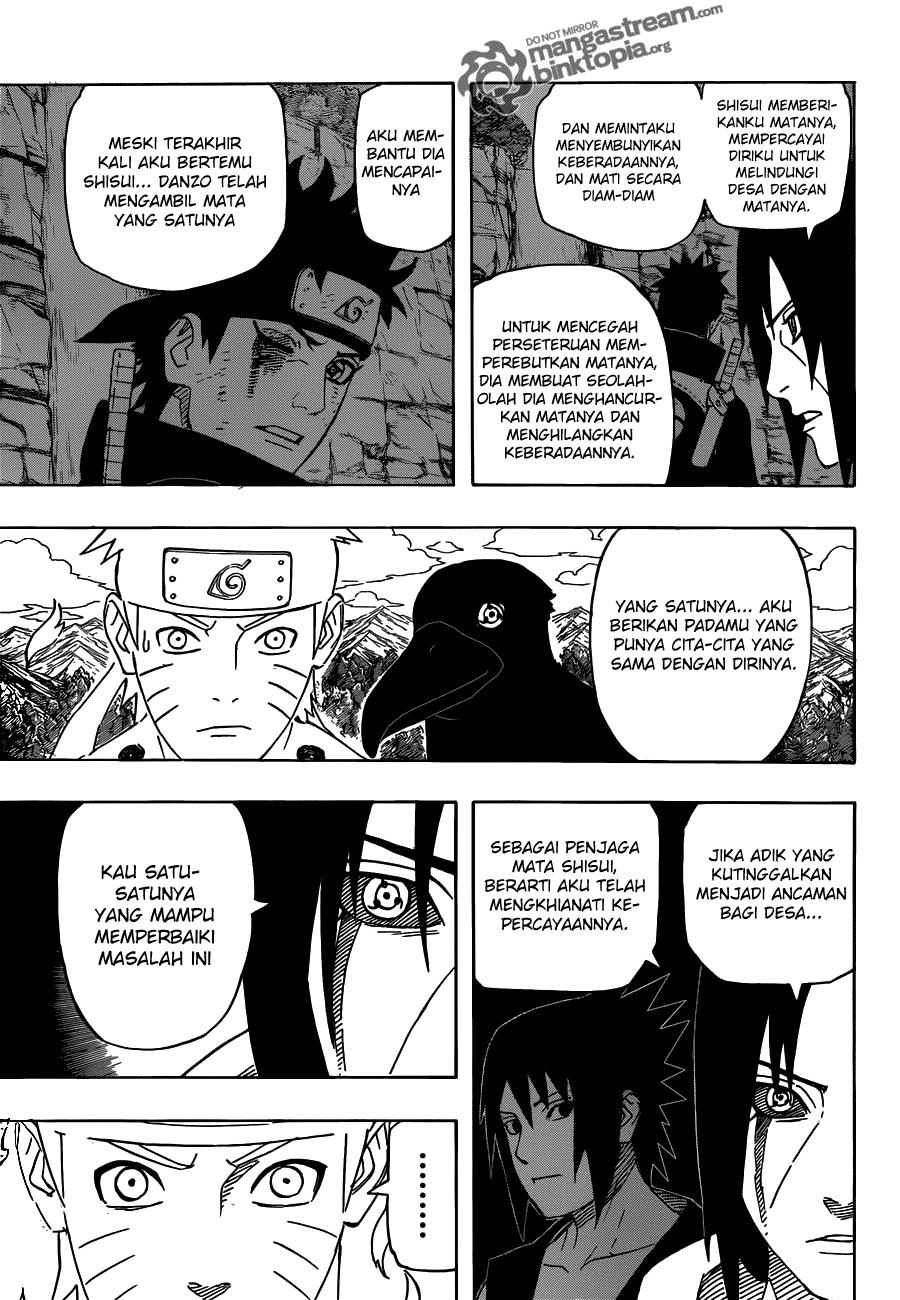 Manga naruto 550 page 12