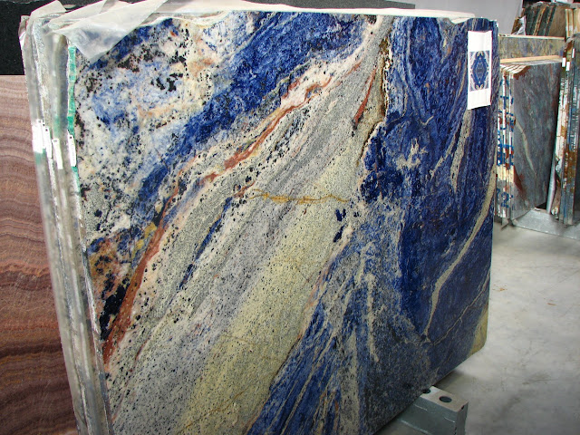 wandverkleidung unikat naturstein blau aus rohplatte sodalite blue marmorplatte ebay. Black Bedroom Furniture Sets. Home Design Ideas
