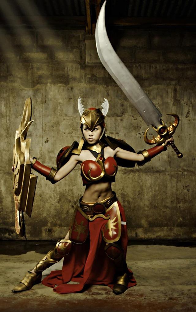 Ailkeene về bộ cosplay trên cả tuyệt vời về Leona - Ảnh 6