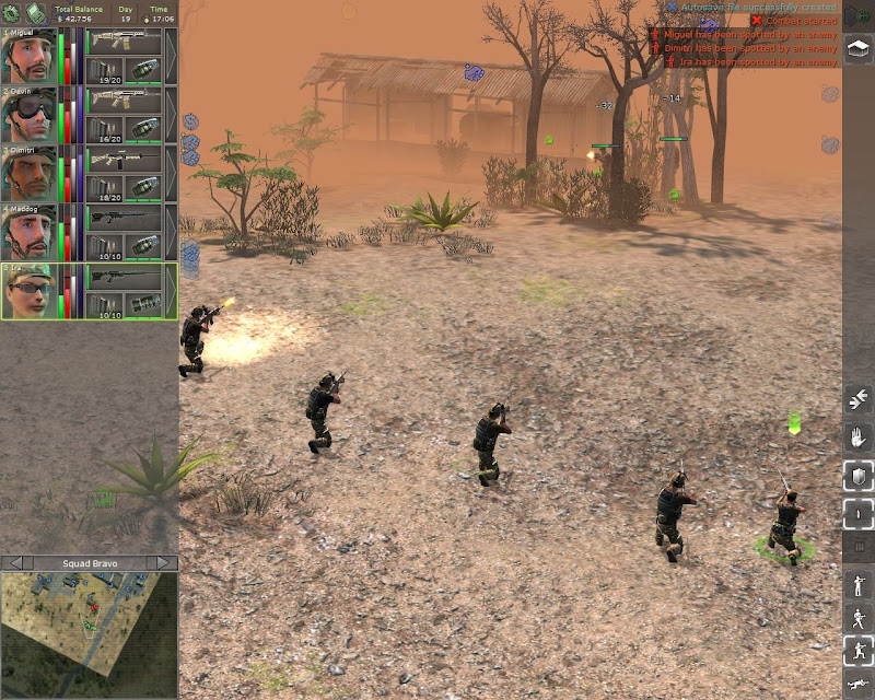 Screenshot - jagged alliance: back in action (pc-cdrom)