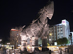 Canakkale - Trojan horse at night