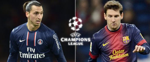 PSG vs. Barcelona en Vivo - Champions League