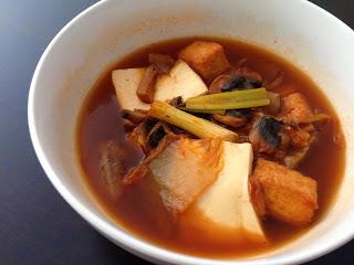 Tofu Kimchi Soup