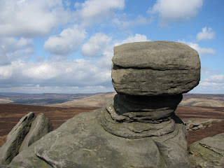 Rock formation at Back Tor
