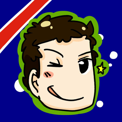 Даниэль Риккардо в стиле комикса сезона 2012