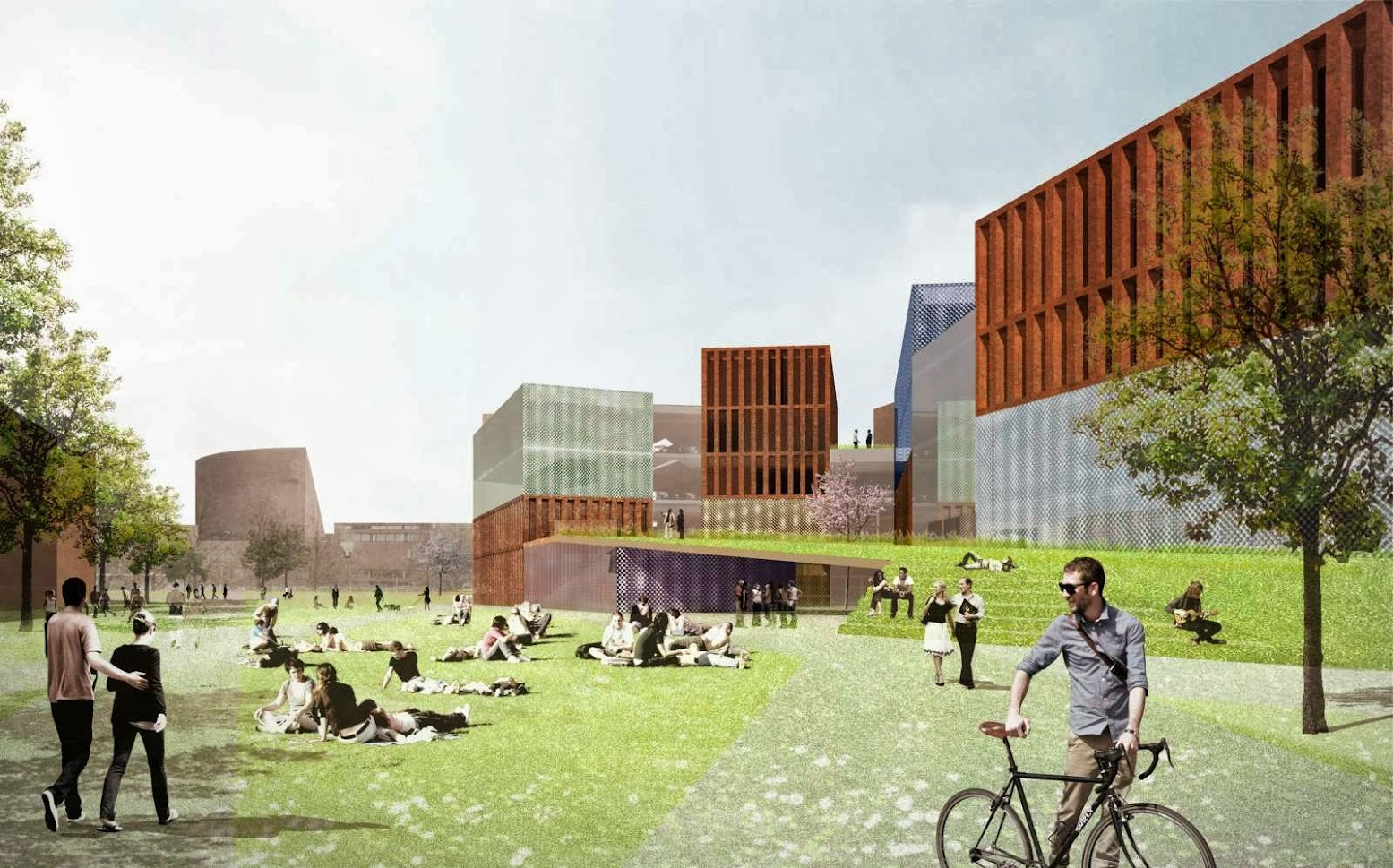 Rotterdam, Paesi Bassi: [WINNERS CAMPUS 2015 ARCHITECTURAL DESIGN COMPETITION]